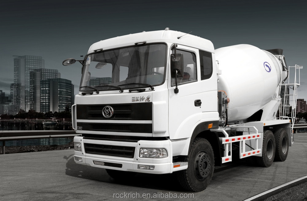 Most Popular Sitom Brand New 10m3 Cement Concrete Mixer Truck Dimensions