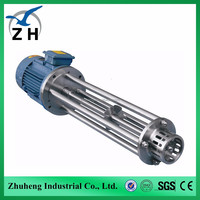 ploughshare high shear mixer batch industrial high shear homogenizer