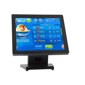 15 Inch Restaurant Pos Terminal Touxh Screen Support Linux