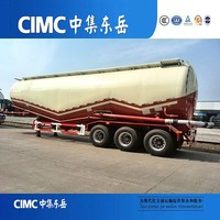 CIMC Roro Ship Material Bulk Cement Tanker And Chassis