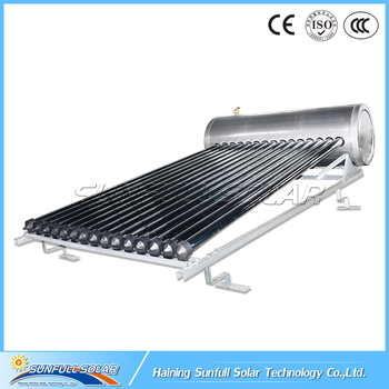 Attractive Design Compact Pressurized Rooftop Solar Water Heater System