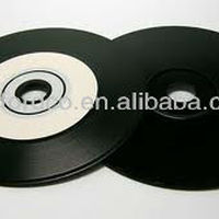 Black Vinyl CD Printable 52X 700M
