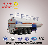 40,000 Liters Fuel Tank Trailer with 3 axles and 6 compartments
