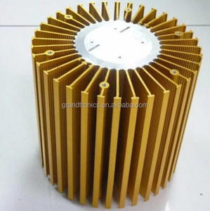 260x100 mm size 180--250w liquid cooled heat sink for led light