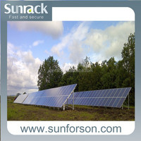 high quality solar panel racking