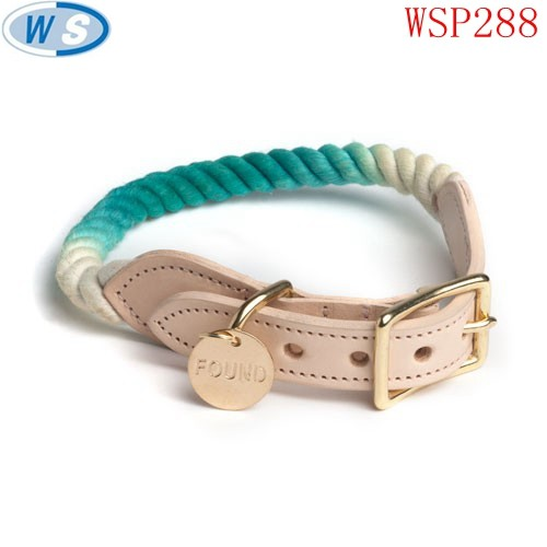 Factory directly sell discount matching dog collars and leashes manufactured in China
