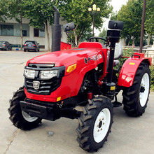 China Luzhong 4X4 55hp 4WD cheap farm machinery agricultural tractor