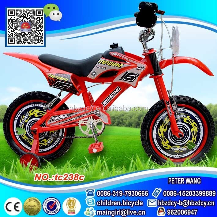 "Cheap chinese bicycles for kids 16"" motorcycle bikes for sale"