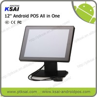 12'' Android POS All in One Touch Screen POS System From PTKSAI China