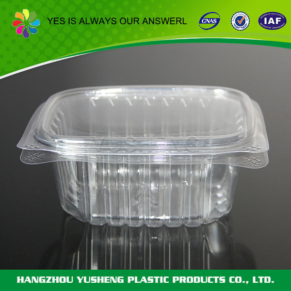 Lightweight clear disposable custom food sushi packaging box,food packaging box