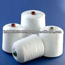 100% Virgin polyester spun yarn