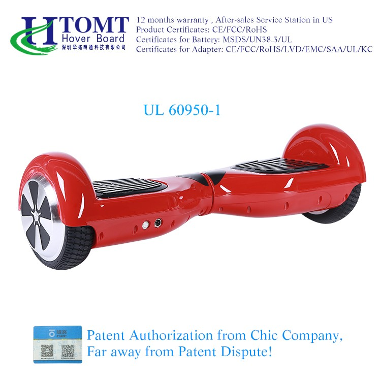 Durable self balance hoverboard dubai electric scooter mobility scooter 6.5inch for adults