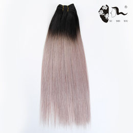 High Quality Real Mink 7A Grade Human Hair Brazilian Grey Human Hair Sew In Weave