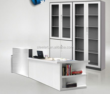 Superior design office display glass cabinet file locker cabinet furniture