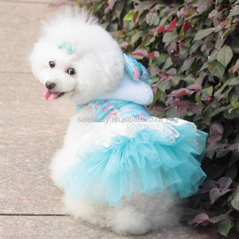 Top selling pet clothes for dog and cat little dog dress clothing QPA-5042