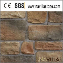 faux cobble stone for exterior wall decoration fireplace mantle 70021