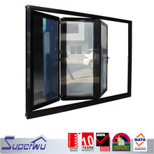 Low E glass accordion folding doors for American