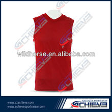 Promotional team club basketball tops pinny jersey