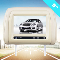9 inch car monitor taxi Headrest bus advertising bus advertising