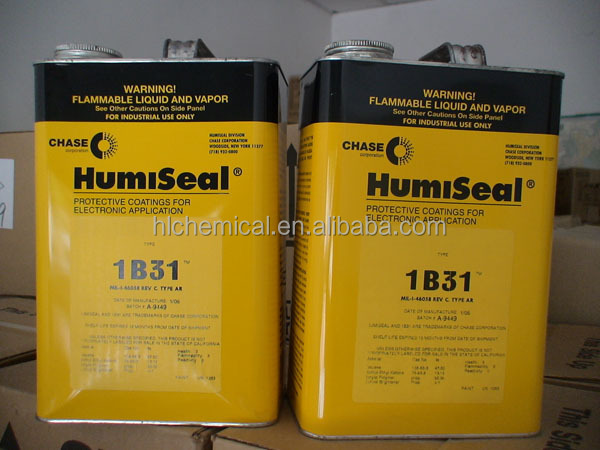 Acrylic Solar Panel Conformal Coating HumiSeal 1B31 for printed circuit assemblies