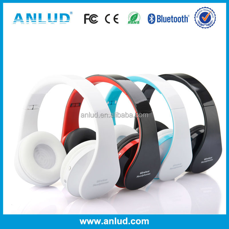ALD06 Supplier Super Bass Colorful Foldableusb stereo earmuff headphones