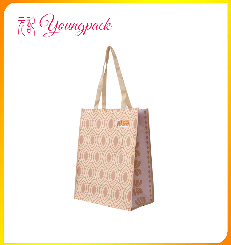 High Quality Factory Recycled Tote PP Nonwoven Bag