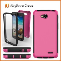 Free shipping with screen protector cell phone case for LG L90