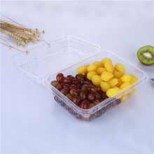disposable PET blueberry apple packaging box high quality plastic fruit container