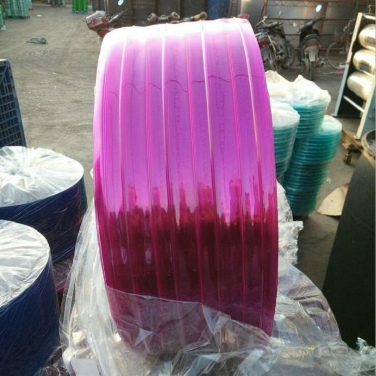 China plastic manufacturer pvc plastic transparent clear strip curtain