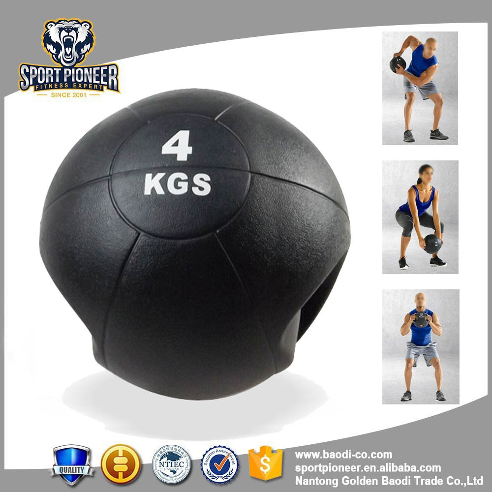 Powerfly Bounce Medicine Slam Ball - Gym Training Workout Fitness - 4KG