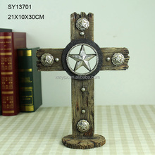 China decorative resin small crosses for craft