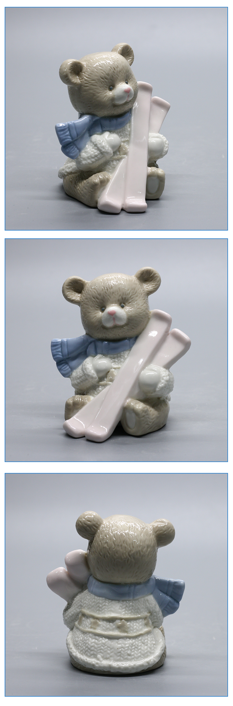 ceramic gift items bear desgin craft small statue