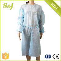 Dental Nonwoven Disposable Isolation Gown with Ties