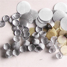 60 Mesh 0.15mm Round Screen Filter for Smoking Pipe and Bong