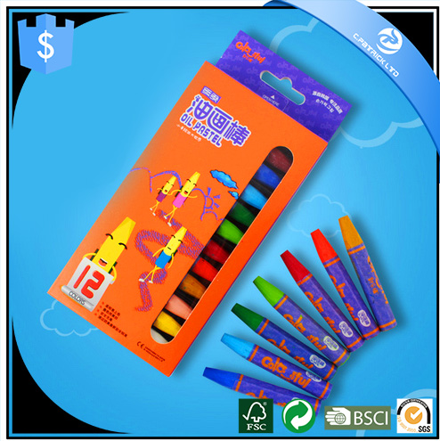 colorful oil pastel 12colors 24colors nontoxic washable oil pastel set for artists