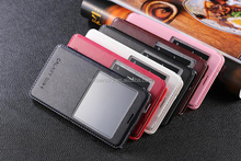 Leather Case for Samsung Galaxy Note 4 Genuine Leather Vintage Flip Book Case Holder Adjustable Stand Function Classic Magnet