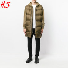 Latest Products Good quality Long Sleeveless Down Coat For Men