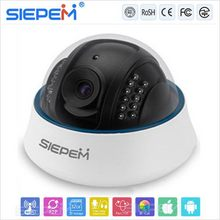 Cheap promotional gift onvif dome ip camera with poe/onvif high speed dome ip camera/NTP robot wireless p2p ip camera