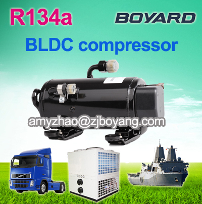 boyard r134a electric car ac compressor for portable battery powered air conditioner pump