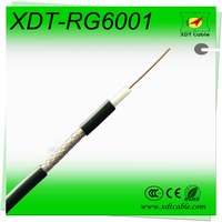 China Manufacture CCTV Communication Thin RG6 Coaxial Cable to HDMI Communication Lan Cable