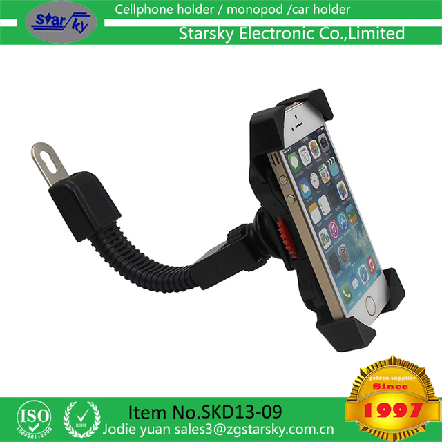 Bike Phone Mount for any Smart Phone: iPhone 7 /7+, 6 /6+, 5s, 5, Samsung Galaxy S7 /S7 Edge, S6, S5, S4, Nexus, Nokia, LG. Moto
