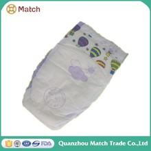 Premium quality economic name brand disposable baby diapers for Africa market