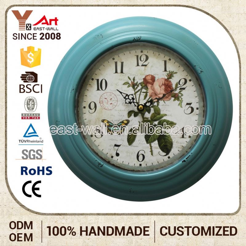 Quality Guaranteed Customized Oem Sublimation Party Decorations Clock