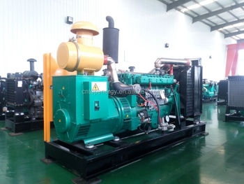 Water Cooled Natural Gas biogas Biomass Electric Generator 200kw/250kva With Stamford Alternator engine made by DCEC NT855