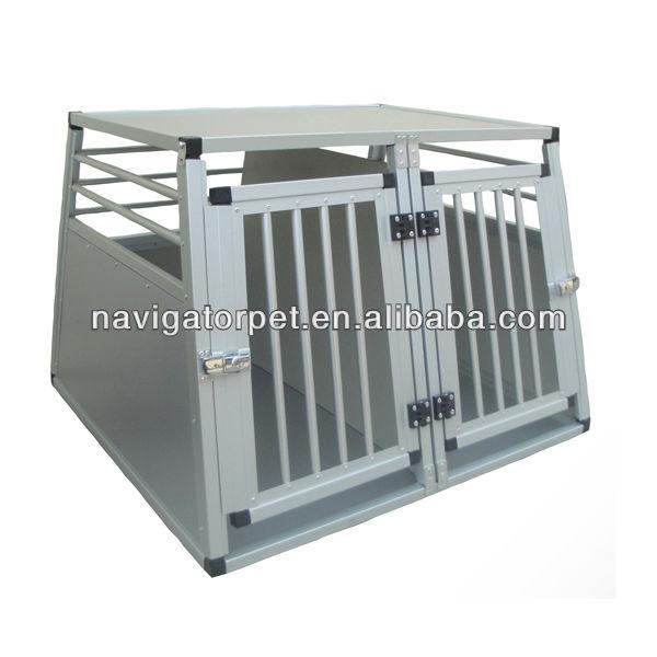 alu chien cage alu transportbox cage caisse transporteur maison pour animaux domestiques id. Black Bedroom Furniture Sets. Home Design Ideas