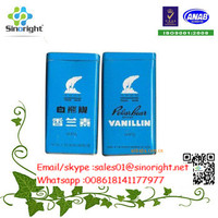Flavoring Vanillin factory and Ethyl Vanillin Powder FCC