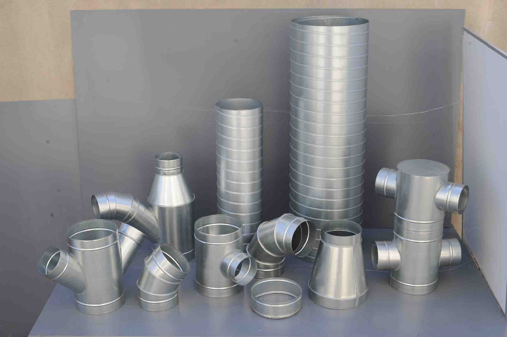 Galvanized Steel Tee For Air Ductwork Accessories Hvac