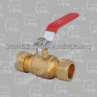 831 04 Superior Brass Valve COMPRESSION