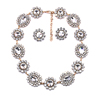 Charm Fashion Glass Crystal Choker Necklace