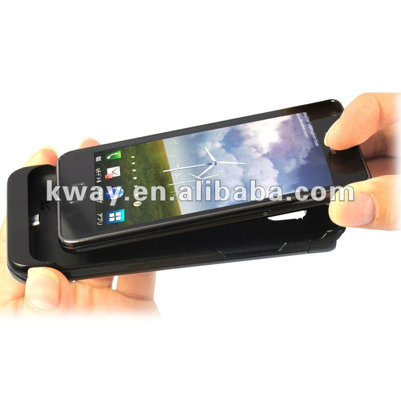 2200mAh Ultra-thin external Backup Battery charger Case Cover for Samsung Galaxy S2 SII i9100 KWB030